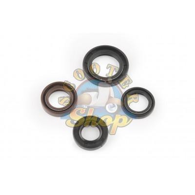 Набор сальников на китайский скутер 50 кубов [139QMB] 50/80/100 кубов