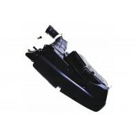 Корпус фильтра пластмассовый 152QMI,157QMJ 125-150cc (треугольный фильтр)