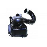 Корпус фильтра пластмассовый 152QMI,157QMJ 125-150cc (круглый фильтр)