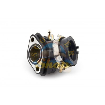 Патрубок карбюратора на китайский скутер 125/150 кубов [152QMI/157QMJ]