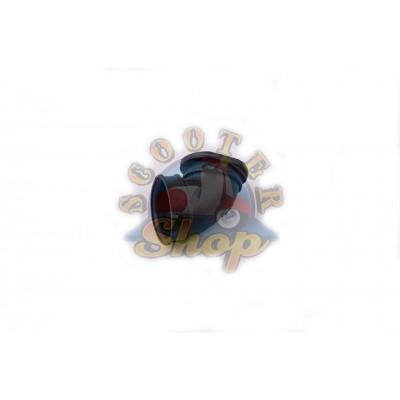 Патрубок корпуса фильтра на скутер Сузуки Адрес/Сепия 50 кубов [v50g]
