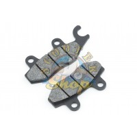 Колодки дискового тормоза на китайский скутер 125/150 кубов [152QMI/157QMJ] [ухо вправо]