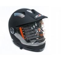 Шлем JIX JX-A112 (разборной) с солнцезащитными очками (черный)