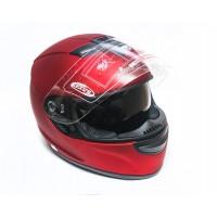 Шлем  JEKAI-107  (Интеграл) с солнцезащитными очками (красный)