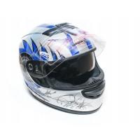 Шлем  JEKAI-107  (Интеграл) с солнцезащитными очками (серый)
