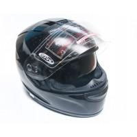 Шлем  JEKAI-107  (Интеграл) с солнцезащитными очками (черный)