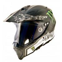 Шлем WLT-128 Кроссовый (мотард) черный /Monster