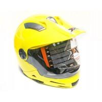 Шлем JIX JX-A112 (разборной) с солнцезащитными очками (желтый)