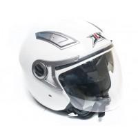 Шлем JIX OP-02 (открытый) с солнцезащитными очками (белый)