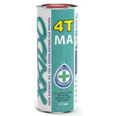 Масло моторное XADO 4T 10W-40 [100 % синтетика]