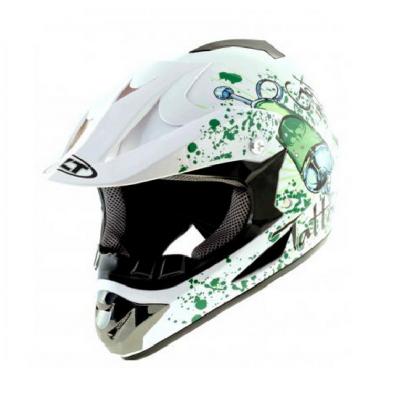 Шлем  WLT-125 Кроссовый белый