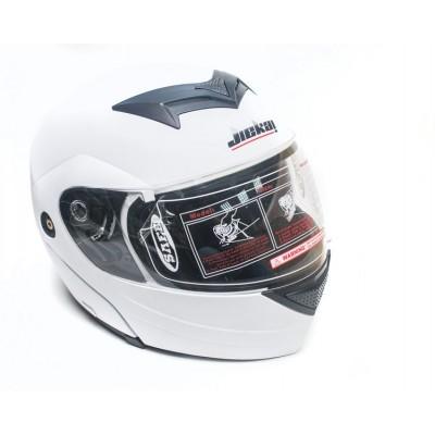 Шлем JIEKAI-111 (модуляр) белый