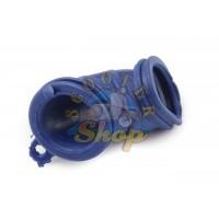 Патрубок корпуса фильтра YAMAHA JOG-50 синий