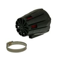Фильтр нулевого сопротивления MALOSSI E5 [Закрытый/Черный] 38мм [Универсальный]