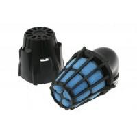 Фильтр нулевого сопротивления  Polini 90  закрытый черный 37 мм