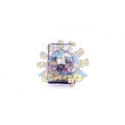 Лампа диодная патрон [Белая][18 кристаллов]