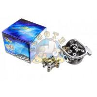 Головка цилиндра на китайский скутер 50 кубов [139QMB] 100 кубов [В сборе]