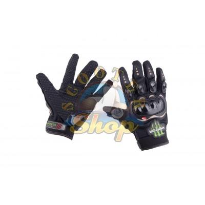 Перчатки Monster Energy [черные]