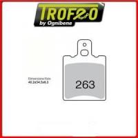Колодки дискового тормоза Trofeo Organic 263 (LMP267) - S13