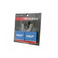 Подшипники коленвала + сальникики Naraku (SKF Metall) Yamaha/Minarelli 50cc 2T