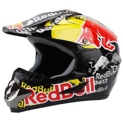 Шлем WLT-125 Кроссовый Red Bull черный
