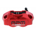 Суппорт тормозной RPM Racing двухпоршневой (универсальный) красный